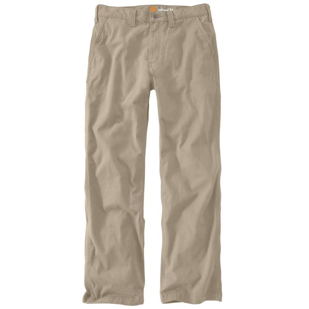 Men's 44x30 Field Khaki Cotton Straight Leg Non-Denim Bottoms