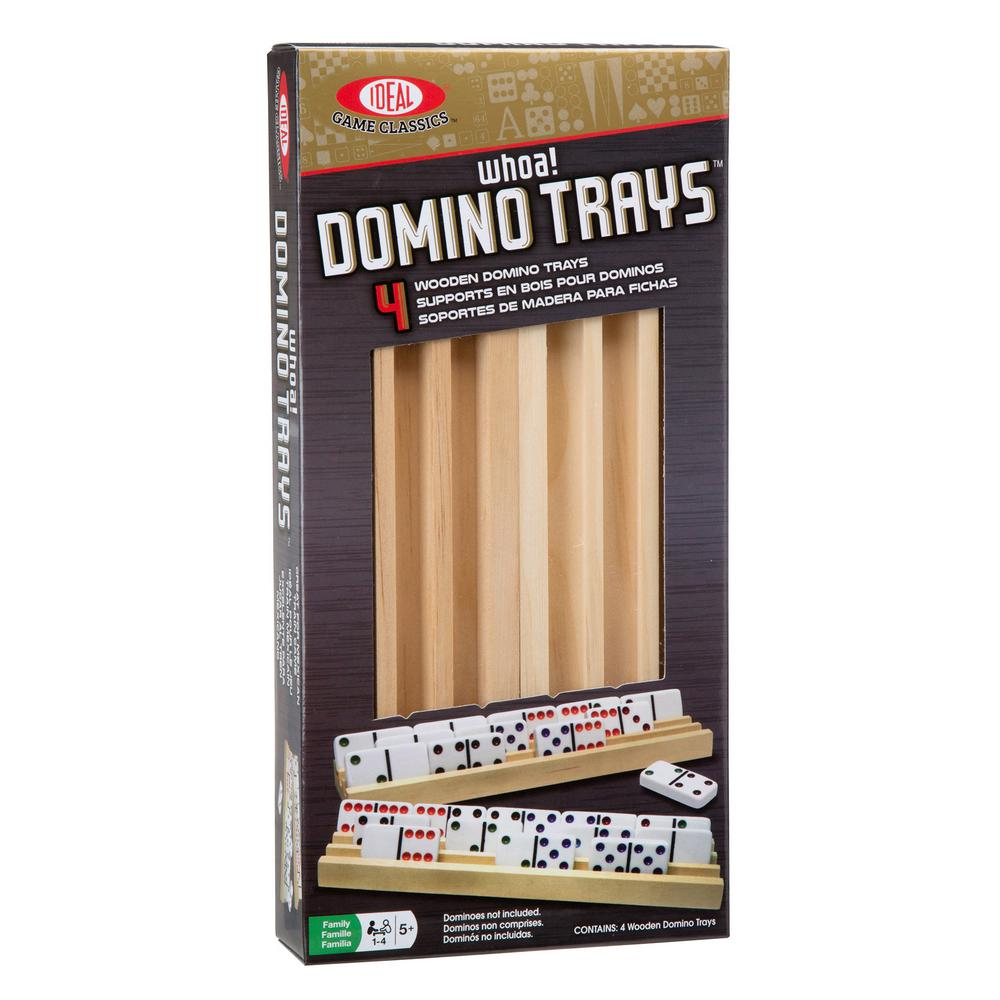 Solid Wood Domino Trays