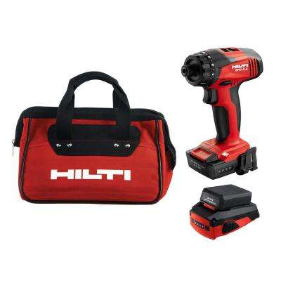 SFD 2-A 12-Volt Lithium-Ion Cordless 1/4 in. Drill Driver with CA-B12 Adapter