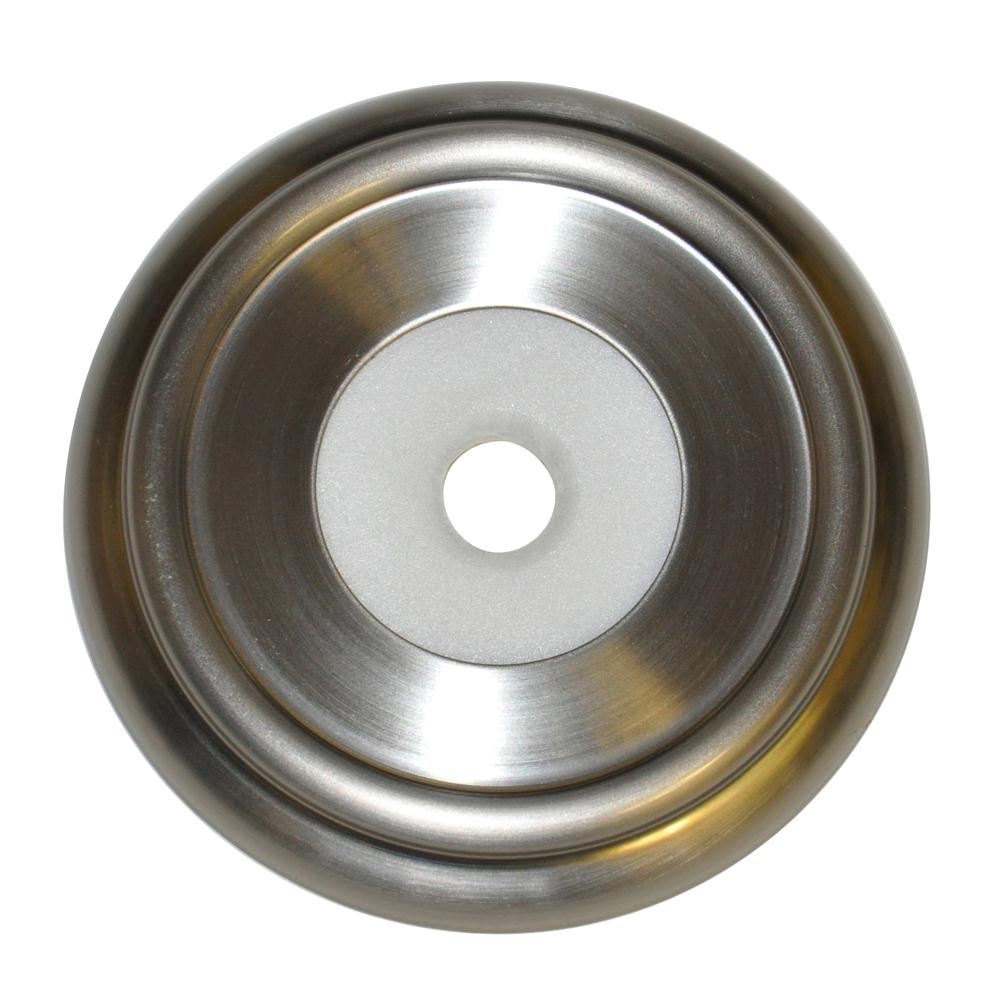 Metal Tub Spout Ring in Brushed Nickel