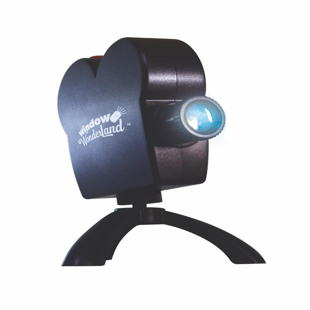 Star Shower Window Wonderland Projector-11674-4 - The Home Depot