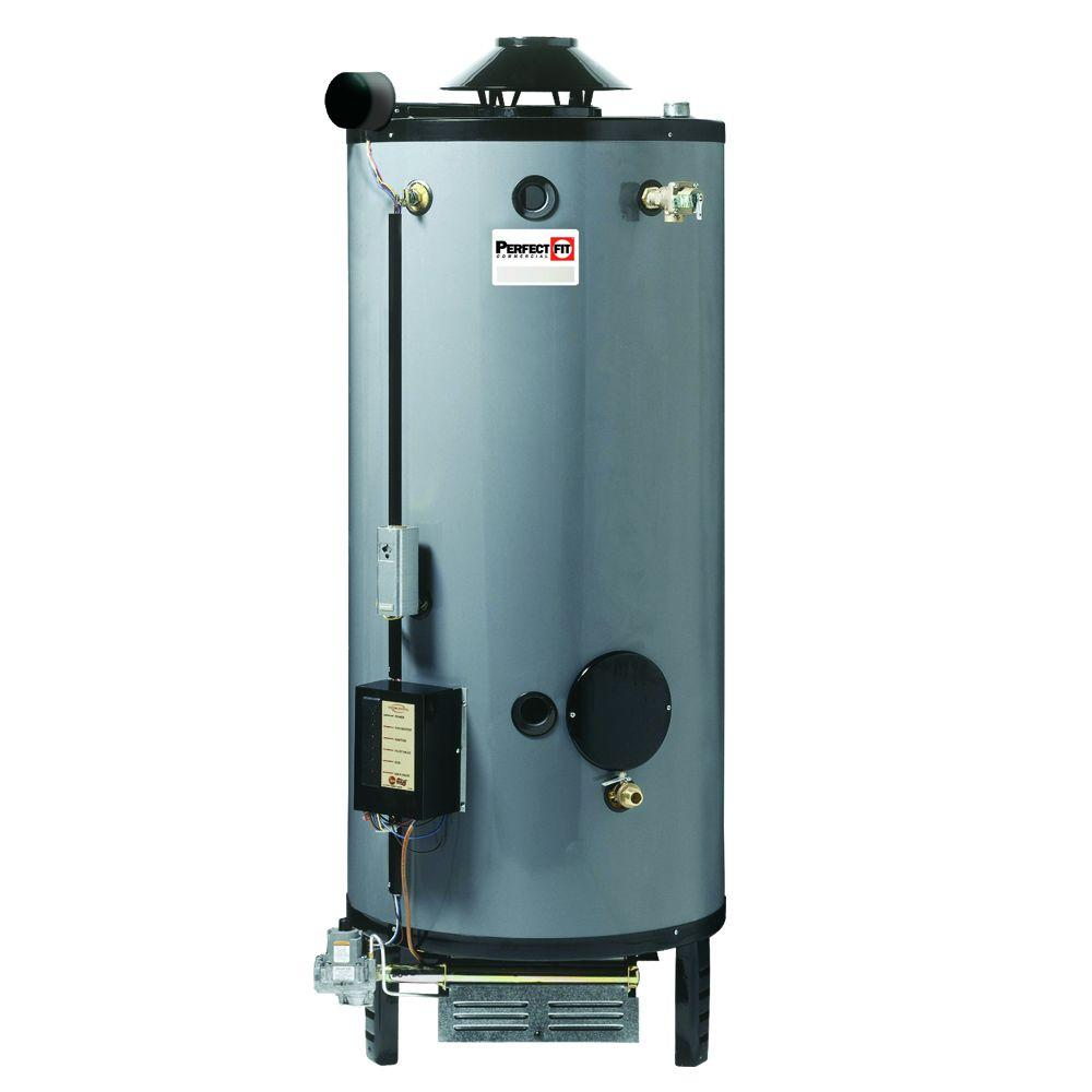 Perfect fit 100 gal 3 year 270 000 btu natural gas water for Green heaters for home