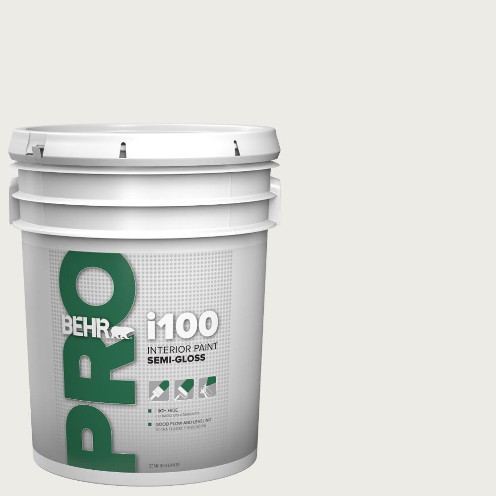 5 gal. i100 Toned-Base Semi-Gloss Interior Paint