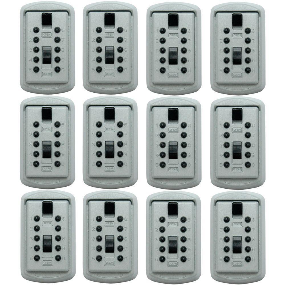 LockState Wall Mounted Lockbox Safe (12-Pack)-DISCONTINUED