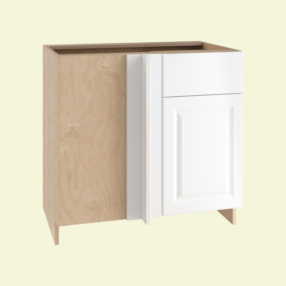 36x34.5x24 in. Anzio Blind Base Corner Cabinet with 1 Soft Close