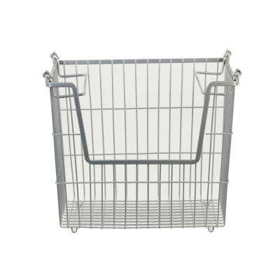 14 in. x 11.5 in. x 9.75 in. Large Stackable Basket