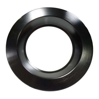 8 in. Black Recessed Trim
