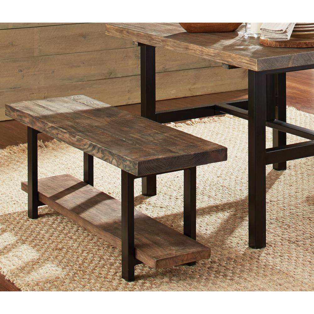 Charmant Alaterre Furniture Pomona Rustic Natural Bench