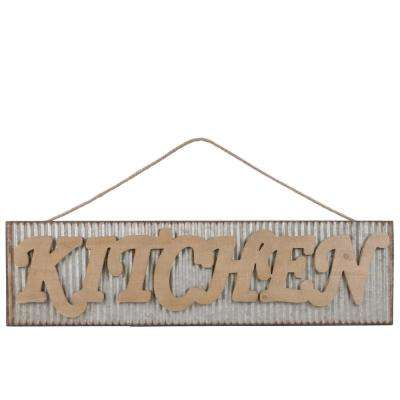 """9.50 in. x 36.00 in. """"Kitchen"""" Printed Wall Art"""