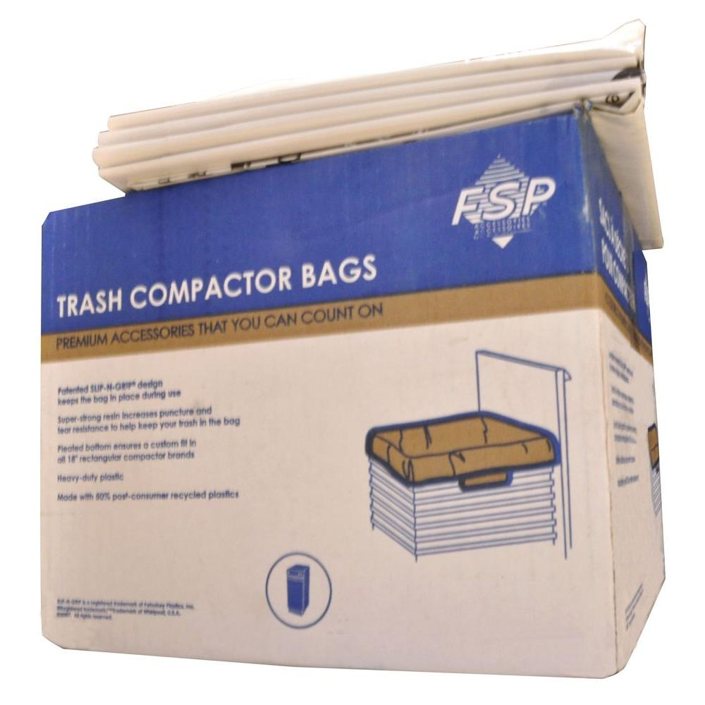 Plastic Compactor Bags 60 Pack