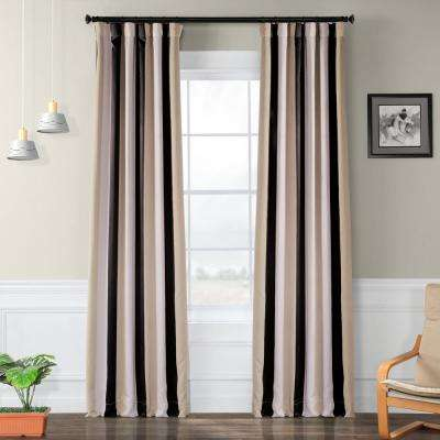 Semi-Opaque Georgetown Blackout Curtain - 50 in. W x 96 in. L (Panel)