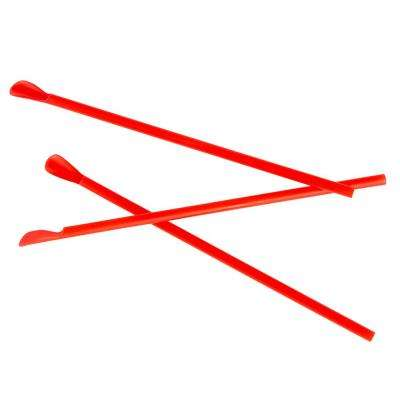 Red Spoon Straws (Case of 200)