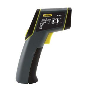 General Tools Laser Temperature Infrared Thermometer with 8:1 Spot
