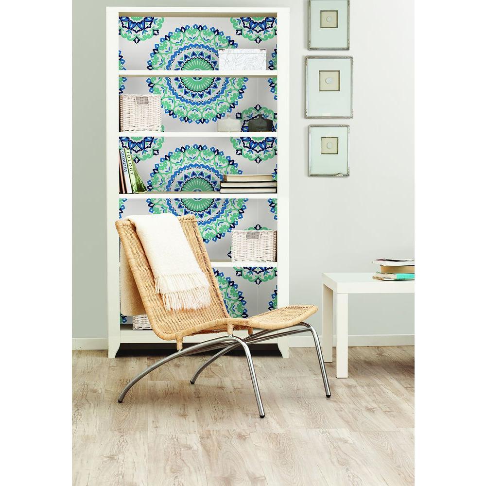 NuWallpaper Off-White Shiplap Peel and Stick Wallpaper ...