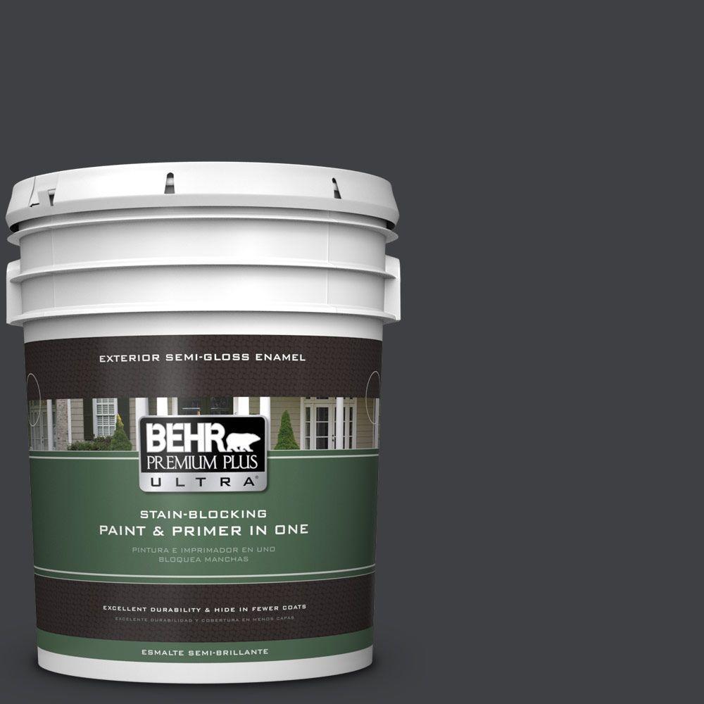 BEHR Premium Plus Ultra 5-gal. #BXC-02 Bauhaus Semi-Gloss Enamel Exterior Paint