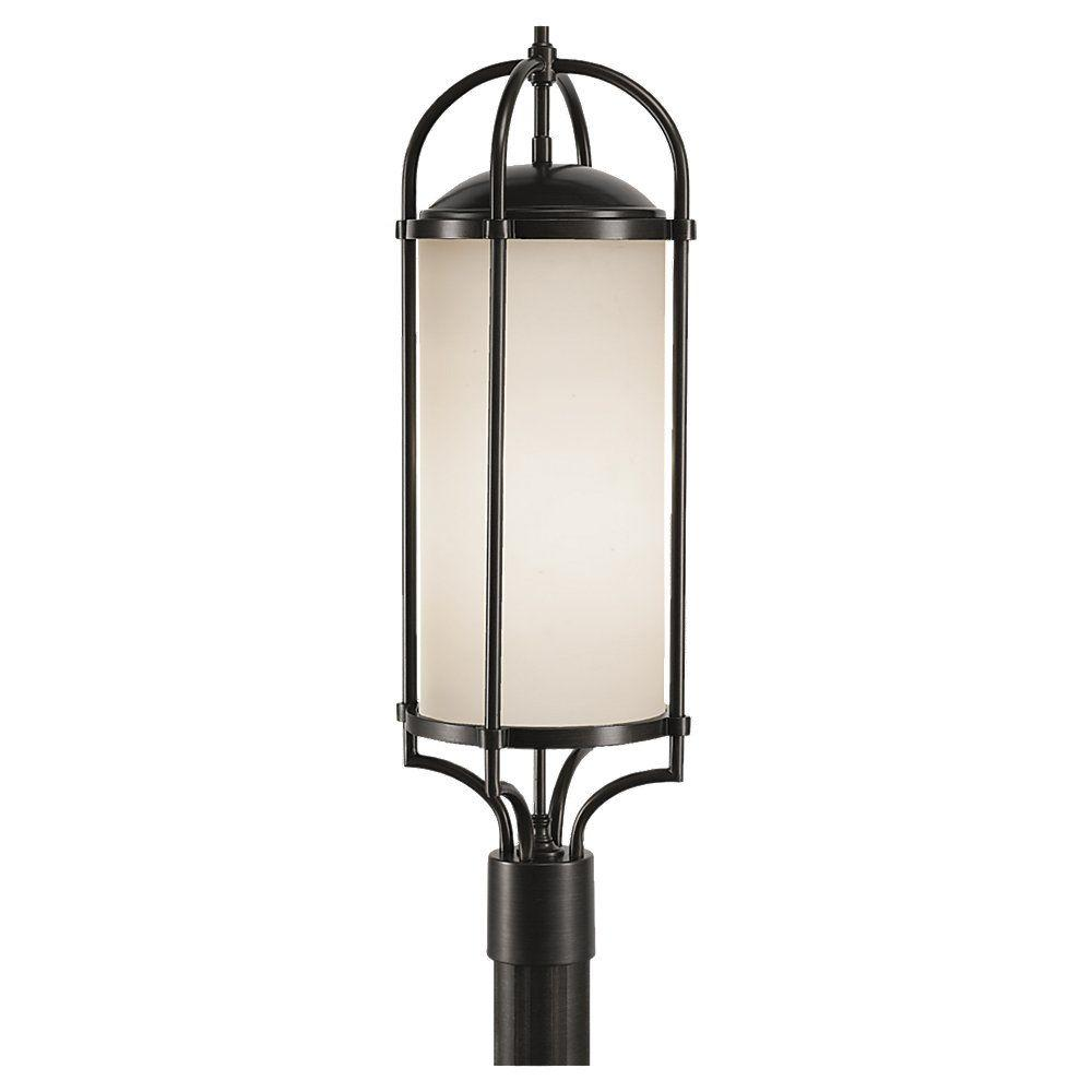 Dakota 3-Light Espresso Outdoor Post