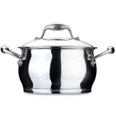 Essentials 4.1 Qt. Stainless Steel Covered Casserole