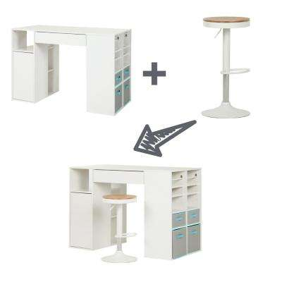 Crea Pure White Desk