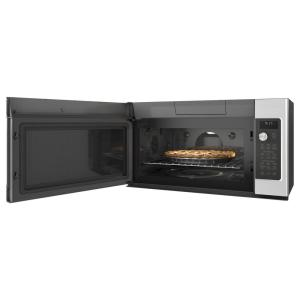 So Sku 1002779478 5 Ge Cafe 1 7 Cu Ft Over The Range Convection Microwave