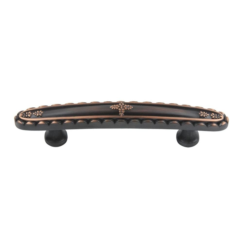 Atlas Homewares St. Michel Collection Venetian Bronze 4 in. Center-to-Center Pull-DISCONTINUED