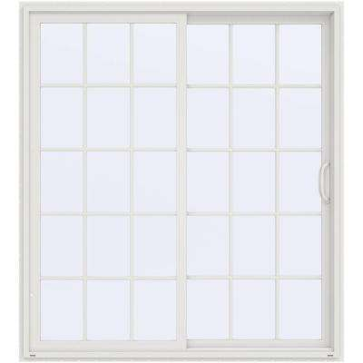 72 in. x 80 in. V-4500 Contemporary White Vinyl Right-Hand  sc 1 st  Home Depot & Yes - Doors \u0026 Windows - The Home Depot