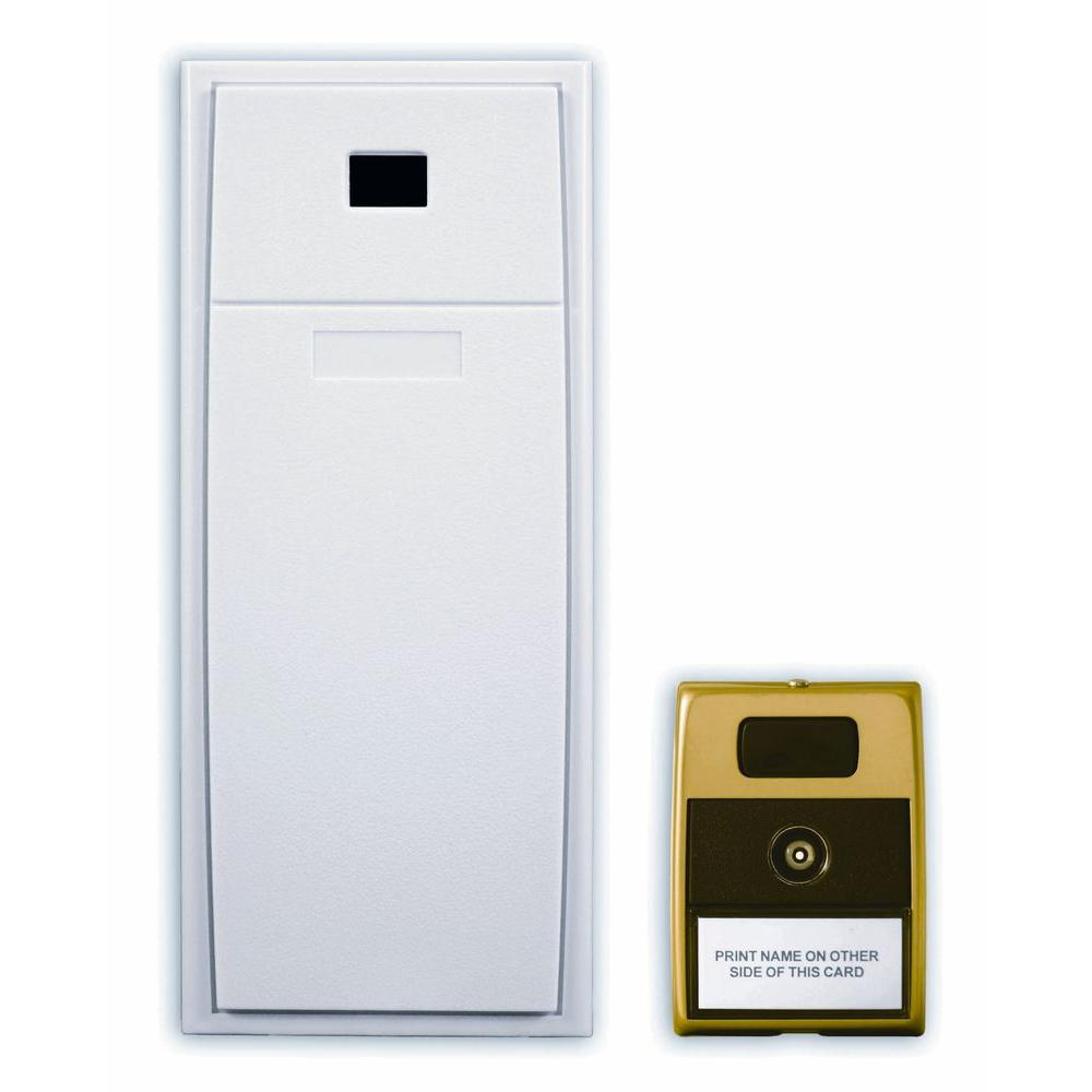 Heath Zenith Mechanical Door Chime with Viewer-DISCONTINUED