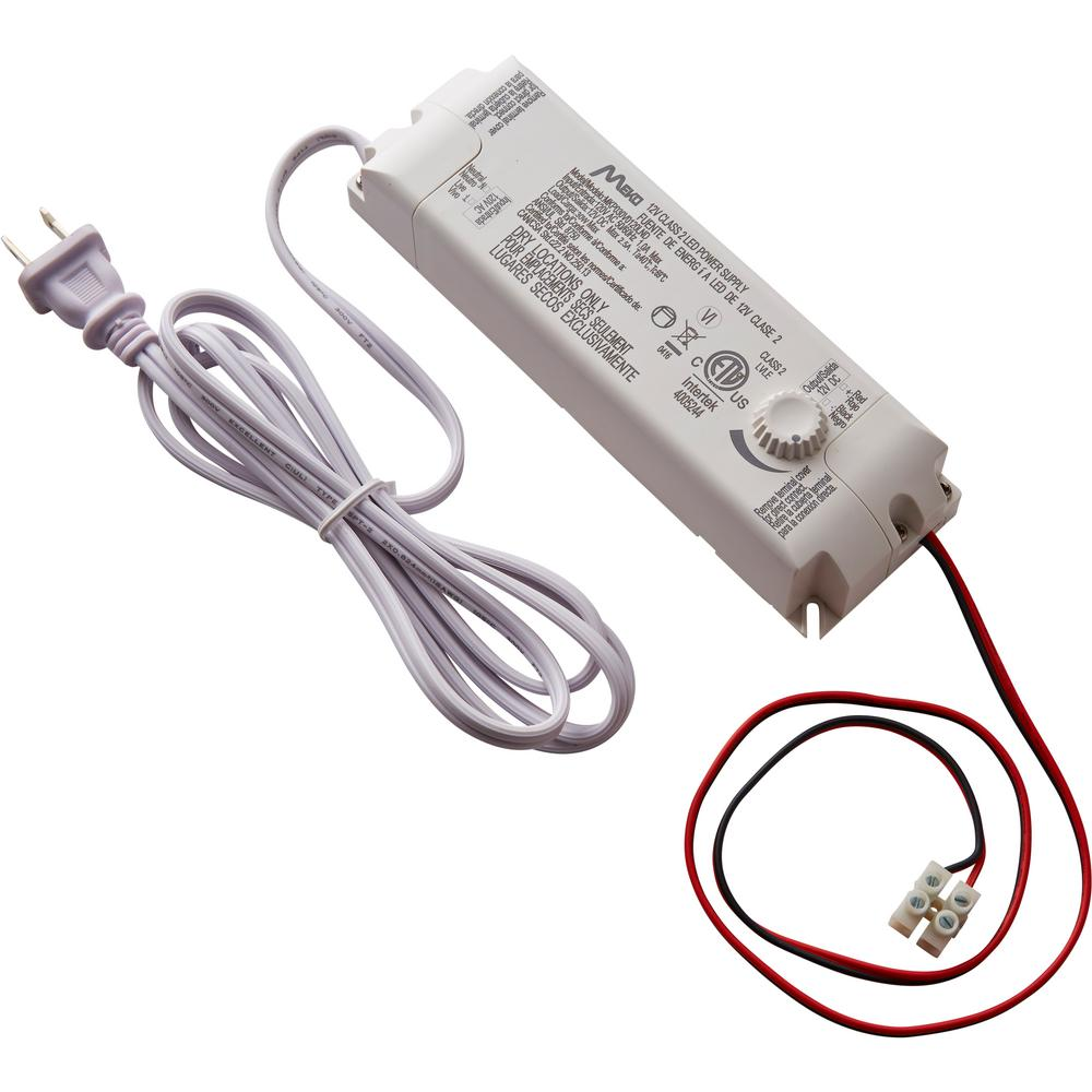Commercial Electric 30 Watt 12 Volt Led Lighting Power Supply With Electrical Wiring Dimmer