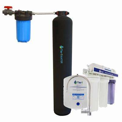Carbon and KDF Water Purification System with 5-Stage Reverse Osmosis Whole House System