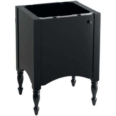 Alberry 24 in. W x 21.5 in. D x 33.5 in. H Vanity Cabinet Only in Cinder
