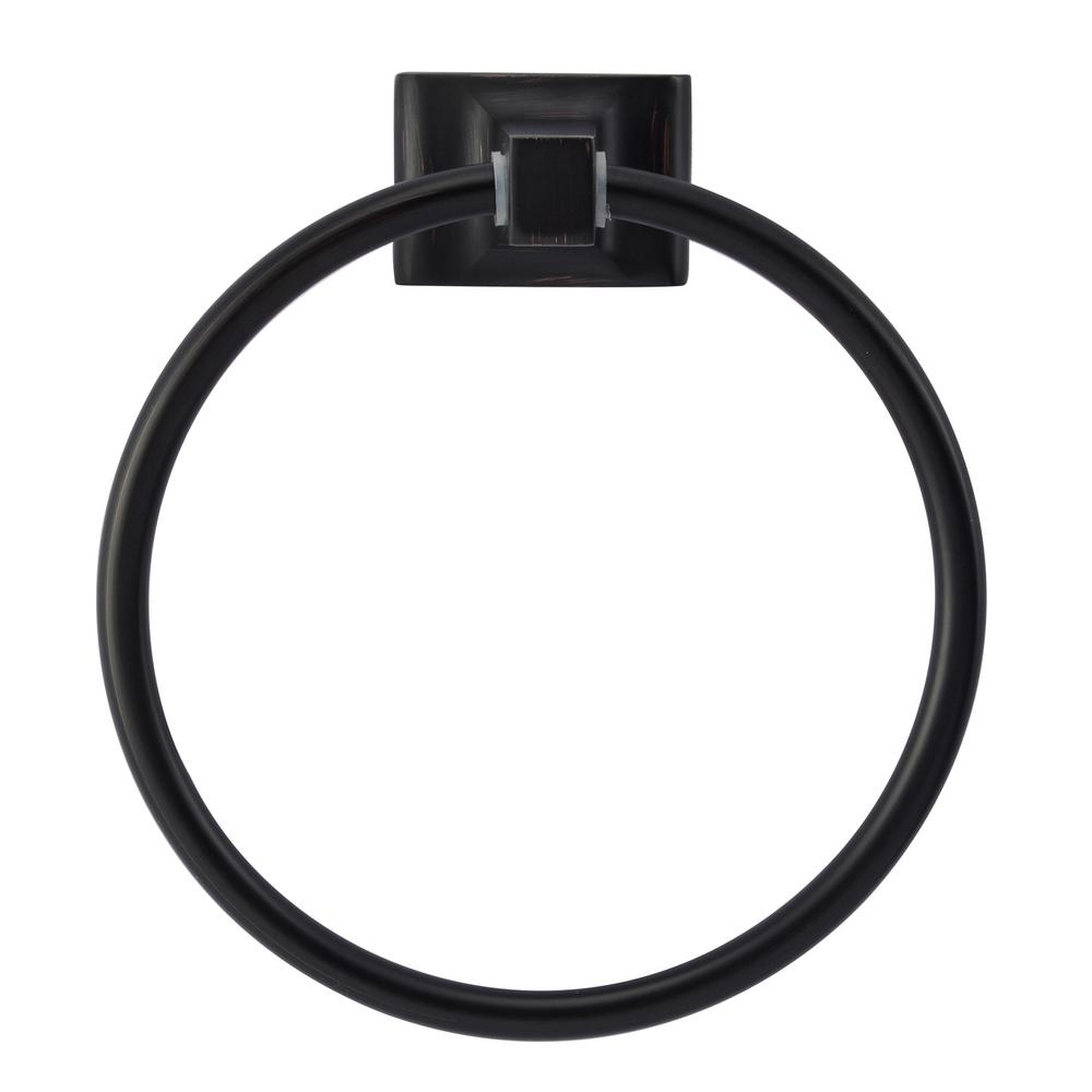 Barclay Products Hennessey Towel Ring in Oil Rubbed Bronze