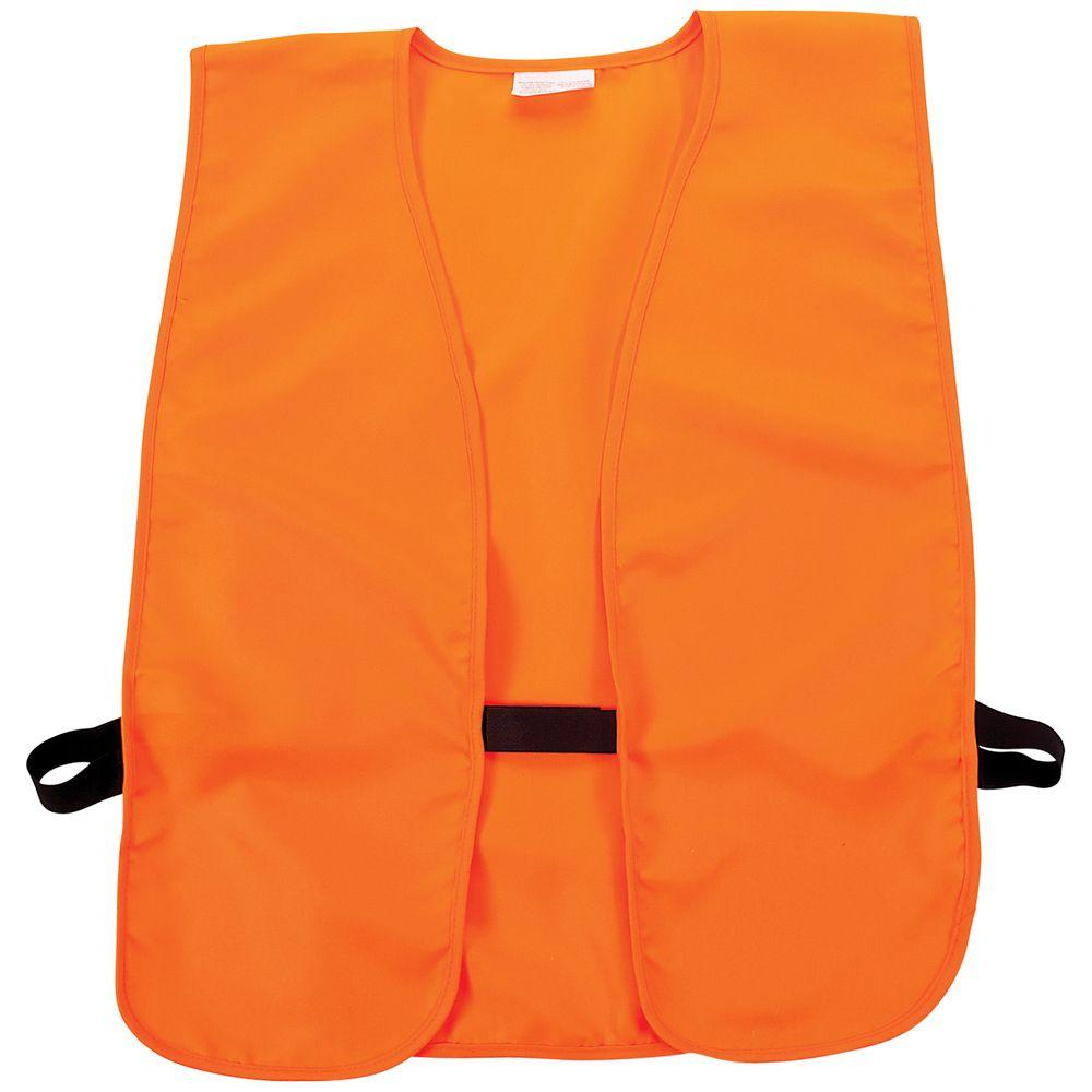 Allen Medium-Large Blaze Orange Safety Vest, Oranges/Peaches
