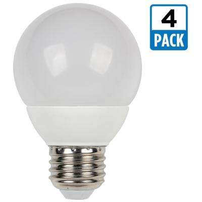 60W Equivalent Warm White G19 Dimmable LED Light Bulb (4-Pack)