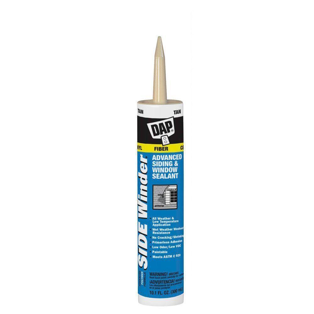 Sidewinder 10.1 oz. Tan Advanced Polymer Siding and Window Sealant (12-Pack)