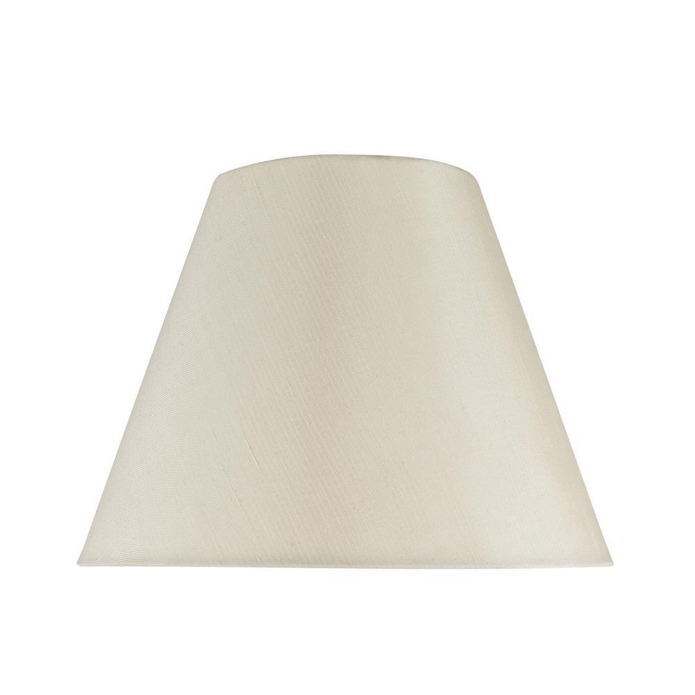 8261380ef511 Aspen Creative Corporation. 14 in. x 11 in. Ivory Hardback Empire Lamp Shade