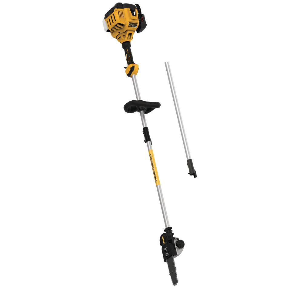 DEWALT 10 inch 27 cc 2-Cycle Gas Pole Saw w/ Attachment Capability