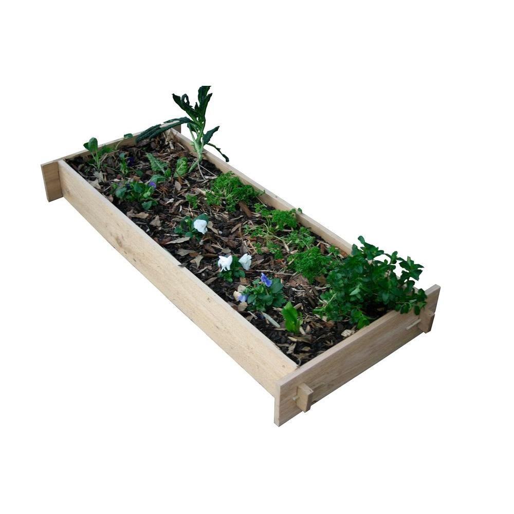 null 2 Ft. x 5 Ft. Shaker Style Raised Garden Beds-DISCONTINUED