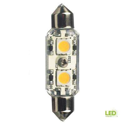 Ambiance 24-Volt LED Clear Festoon Lamp (4000K)
