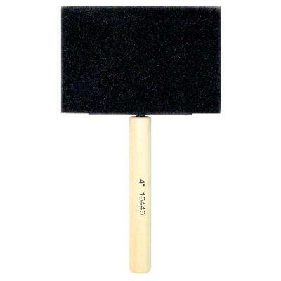 4 in. Foam Brush (24-Pack)