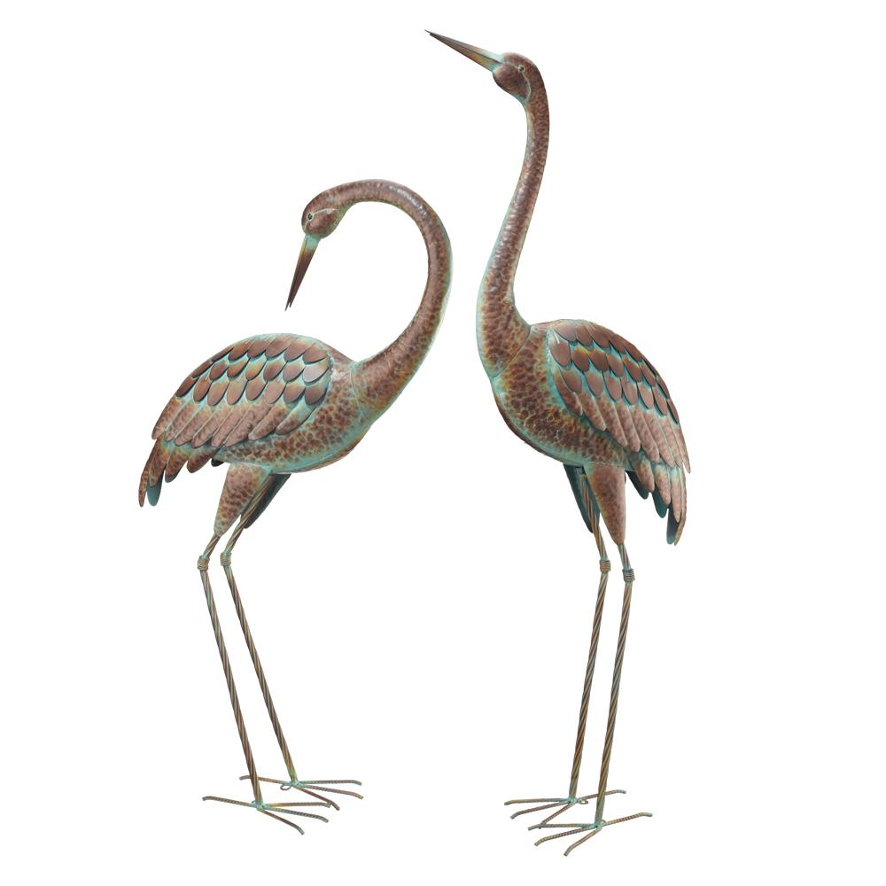 Genial Regal Elegant Metal Garden Cranes (2 Set)