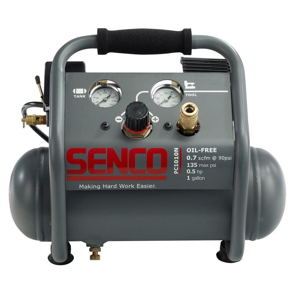 1 Gal. 1/2 HP Portable Pancake Electric Air Compressor