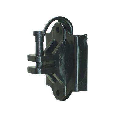 T-Post/Wood Pinlock Polywire Insulator - Black