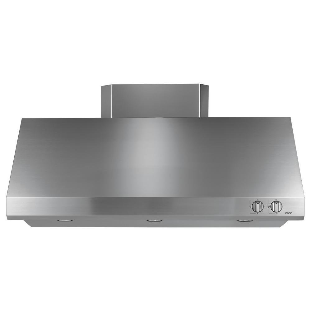 48 in. 940 CFM External Insert Range Hood with Light in