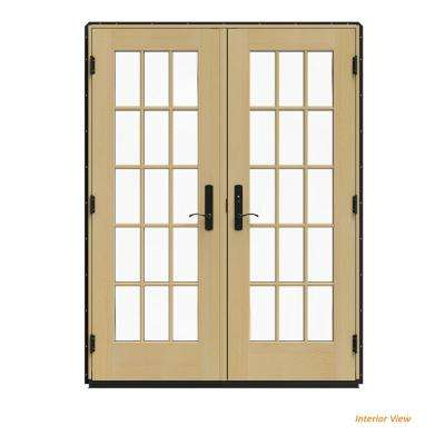 60 X 80 Black French Patio Door Patio Doors Exterior Doors
