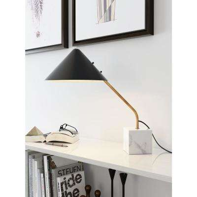 20.5 in. Pike Black Table Lamp