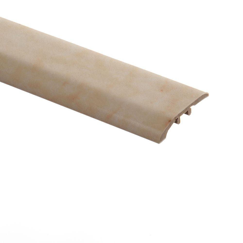 Zamma Carrara Cream 5/16 in. Thick x 1-3/4 in. Wide x 72 in. Length Vinyl Multi-Purpose Reducer Molding