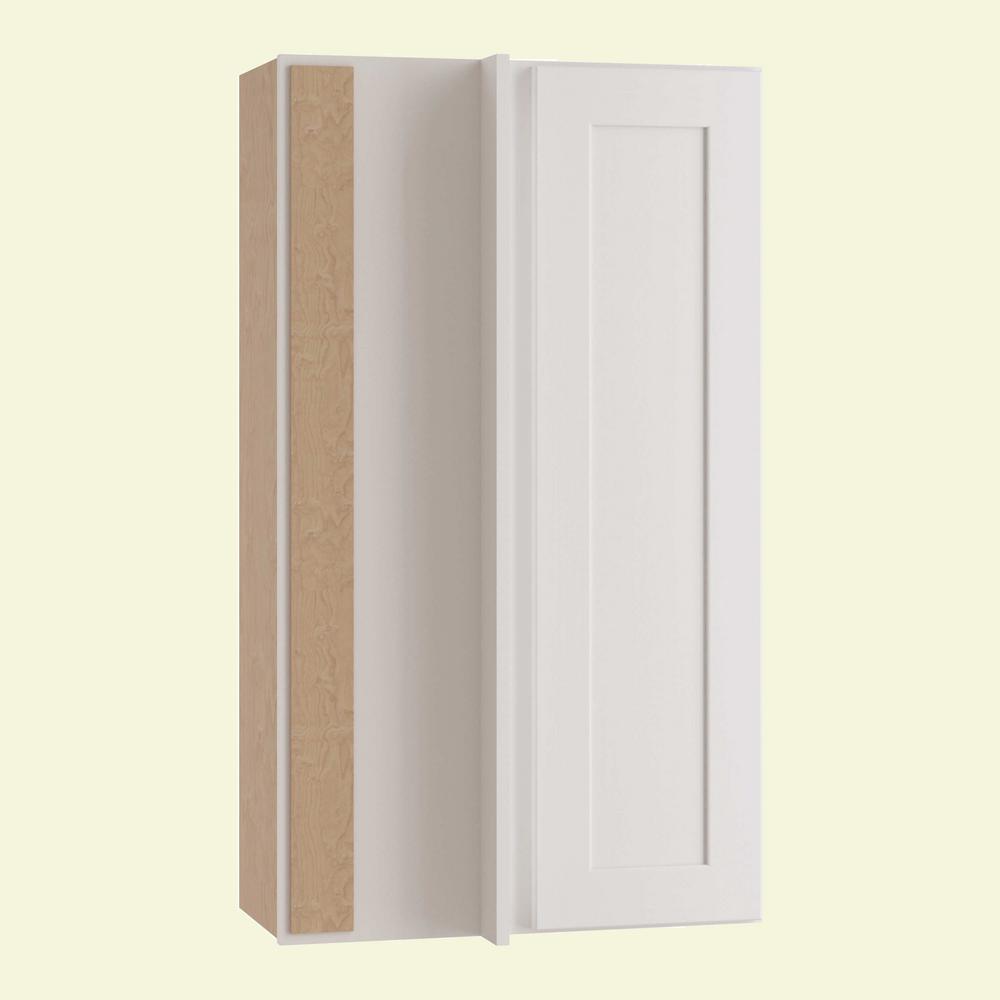 White Shaker Wall Assembled Kitchen Cabinets