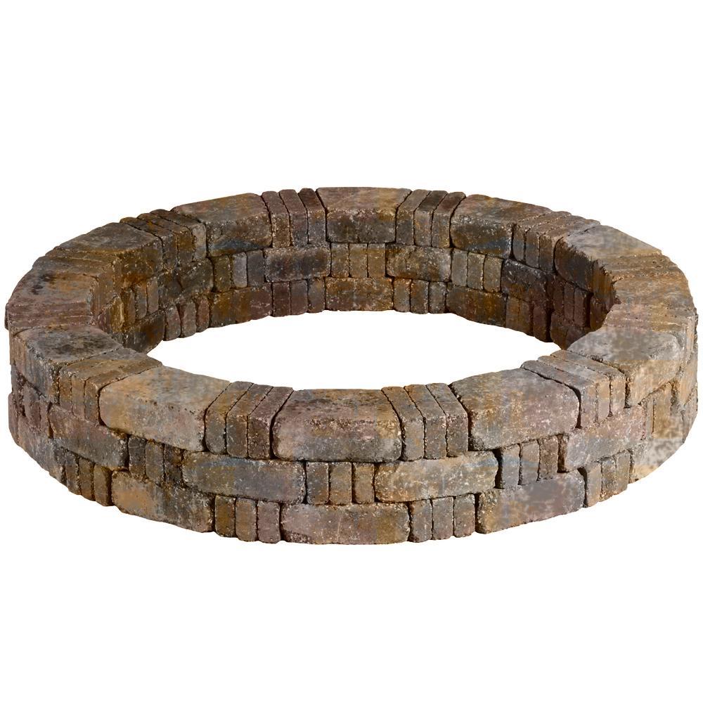 RumbleStone 59 in. x 10.5 in. Tree Ring Kit in Sierra Blend