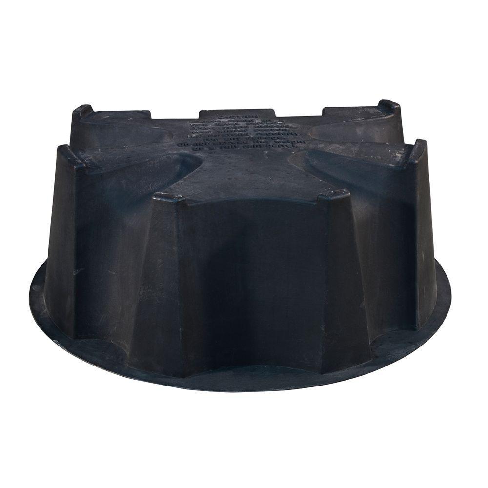 50 Gal. Rain Barrel Black Stand