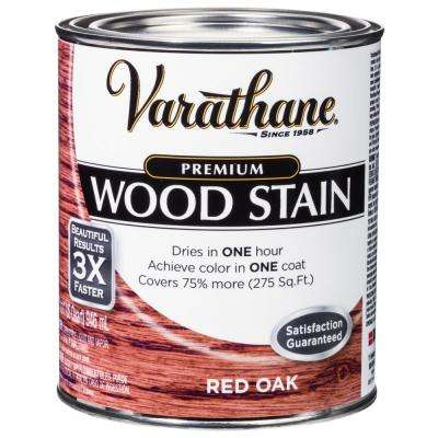 1 qt. Red Oak Premium Fast Dry Interior Wood Stain