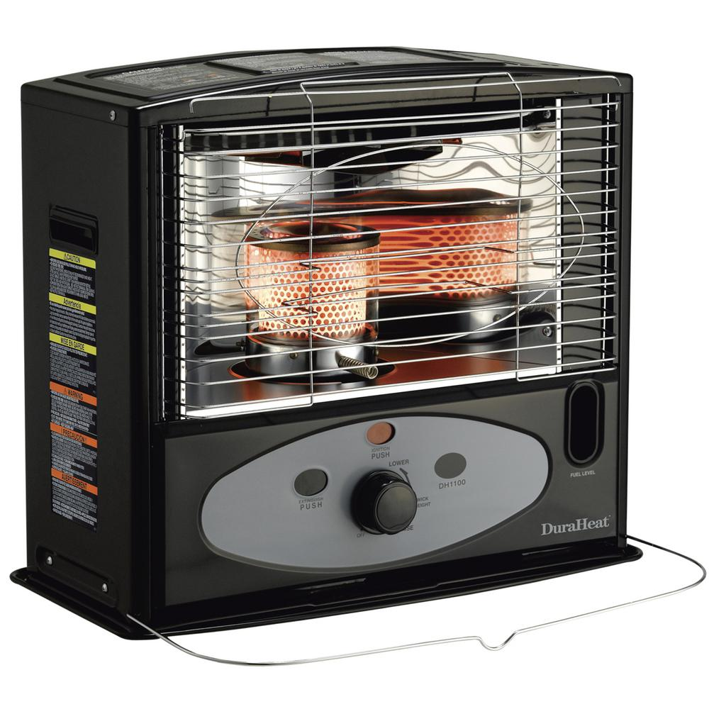 DuraHeat 10,000 BTU Portable Radiant Kerosene Heater-DH1100 - The ...